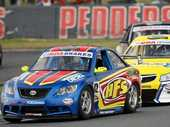 FRESH START: The car of Aussie Racing Series competitor Trent Young, who expects a busy 12 months ahead.