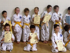 54 students were assessed for their next belt level at the Whitsunday Taekwondo Oh Do Kwan Gup coloured belt grading on Saturday.