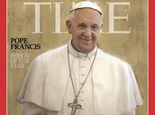 Against stiff competition from Edward Snowden and internationally despised President of Syria Bashar Al-Assad, the Pope has been named Time Person of the Year.
