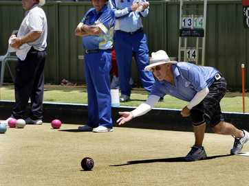 Bribie Island Bowls Club fours play on Monday for the Prestige Bowls championship.