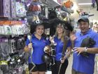 BROOMSTICKS have been flying off the shelves at The Party Hut as Toowoomba businesses get into the spirit of Black Friday.