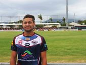 New Capras signing Marlon Doak. Photo Melanie Plane / The Morning Bulletin