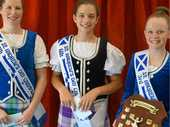 SUCCESSFUL COMP: Roma Highland Dancers Marissa Regan, Ellen Kehl and Hannah Hughes did their school proud at the St Andrew's Day Championship recently.
