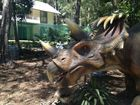 Take a visual tour of the Palmer Coolum Resort's Palmersaurus dinosaur park.