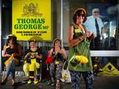A documentary about the Knitting Nannas Against Gas will screen at Lismore this weekend.