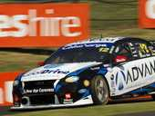 BATHURST BOOST: A trouble-free debut in this year's Bathurst 1000 has Ipswich racer Ash Walsh gearing up for another productive 2014 campaign.