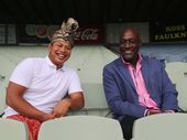 Ketut and Sir Viv Richards.