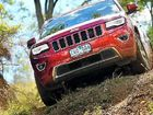 The Jeep Grand Cherokee Overland took our demands in its stride, making light work of some challenging trails and motoring ahead even under load.