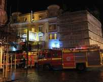 This picture of the scene at the Apollo Theatre was tweeted by @HuffPostUKPics