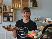 Denise Vale of Macaron Emporium creates homemade delights including macarons and dee-nuts (a croissant-type donut).