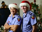VETERAN Ipswich firefighter Mark Walker has been around long enough to know that Christmas Day away from the family is part of the job