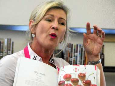 Cookbook author Kim McCosker.