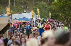 Day one of the Woodford Folk Festival 2013/14.