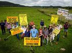 ANTI-CSG activists were preparing for their next battle against the controversial process at Bentley on Saturday.