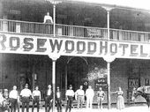 THE Rosewood Hotel burnt to the ground 100 years ago, but like a phoenix it has risen from the ashes