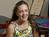 A ST Ursula's College student is singing her way to one of the nation's top choral schools.
