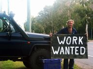 FOR one Hervey Bay jobseeker, the search for permanent employment has had to become a little creative.