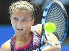 ITALIAN Sara Errani moved through to the second round of the Sydney International after downing Roberta Vinci 6-4 6-2 yesterday.