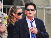 "Charlie Sheen pretended he had married to give his ex-wife ""a stroke""."