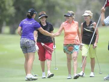 Images from the BWAC ALPG Pro-Am golf tournament played at the Yamba Golf and Country Club which featured 41 professional players and 123 amateurs. Photos: JoJo Newby / The Daily Examiner