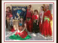 Belly Dance classes - all welcome, no experience needed - come and have lots of FUN!!!