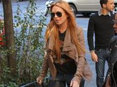 "LINDSAY Lohan plans to stay in control and live ""with integrity"", she said on her new documentary series last."