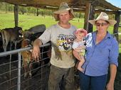 A FAMILY-RUN dairy farm in the Boyne Valley is going out of business after being sandwiched between floods and the supermarket price wars.