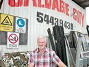 PEOPLE often ask Salvage City owner Brian Kelly what sort of people shop at his place.