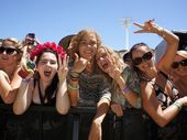 FESTIVAL-GOERS have given the Big Day Out's new home on the Gold Coast a thumbs up.