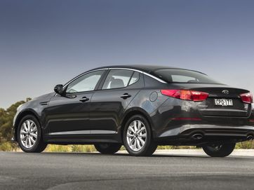 Kia has upgraded the mid-size Optima.