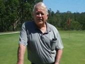ON January 11 Ken Parker lined up the 128m 16th hole at Karana Downs Golf Club with his seven iron and sunk his 14th hole-in-one.