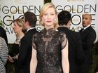 CATE Blanchett has admitted she was drunk when she accepted her Best Actress Golden Globe, so doesn't remember too much about the ceremony.