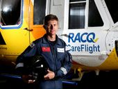 WHEN Brian Guthrie flew up to Bundaberg during the 2013 floods, he literally had lives in his hands.