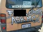 WICKED Campers have copped another caning for offensiveness, but their politically incorrect slogans will be a sight on the Sunshine Coast for a while yet.