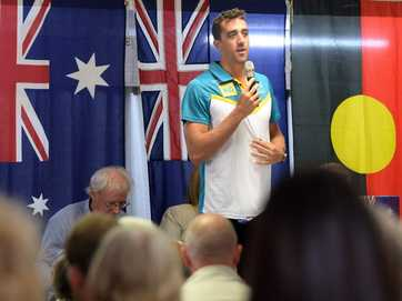 Tweed's 2014 Australia Day presentation in Pottsville Hall.