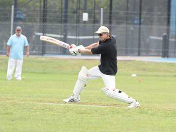 Action from the Frenchville Sports Club Country Cricket Carnival on Day 3.