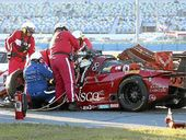 DRIVERS Memo Gidley and Matteo Malucelli reportedly escaped serious injury after a horror crash three hours into the Rolex 24-hour classic.