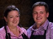 NSW team Annie and Jason set the bar with their three-course cheese inspired menu in tonight's first episode of the new season of My Kitchen Rules.