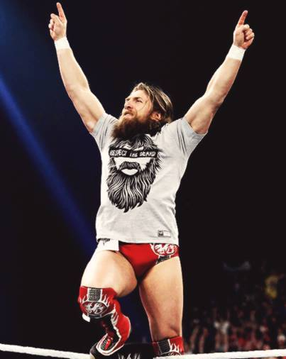 WWE superstar Daniel Bryan.