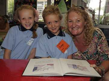 Coolum State School Prep students enjoy a tear-free first day of school.