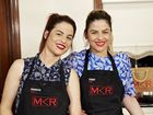 SISTERS Helena and Vikki scored three perfect 10's from the judges on My Kitchen Rules tonight after serving up their modern twist on treasured family recipes.