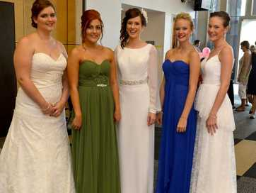 Mackay's annual Bridal Fair attracted hundreds of brides-to-be.
