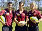 JONATHAN Brown, Jed Adcock and Daniel Merrett are among dozens of players from the Brisbane Lions who will visit nearly 30 schools across the Ipswich district this week.