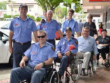 The Gympie Wheelchair Challenge highlights access issues in Gympie.