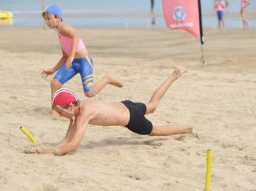 Junior lifesavers from around the region descended on Torquay Beach for the branch titles.