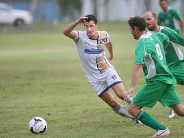 Action from the CQFC Energy v Clinton soccer game on Saturday 8 Feb.   Photos CHRIS ISON