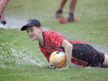 Junior touch football players honed their skills at the recent touch football junior development training session in Rockhampton.