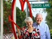 AFTER 54 years of marriage Rosewood couple Joyce and Arnold Rieck are a wonderful Valentine's Day example of long-lasting love.