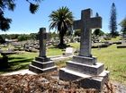 ABOUT 30 Tweed Heads Lawn Cemetery burial sites have been vandalised, including a number of children's graves.