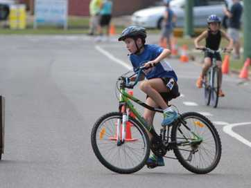 Kids hit the ground running in the Bribie Triathlon Series Active Kids event.
